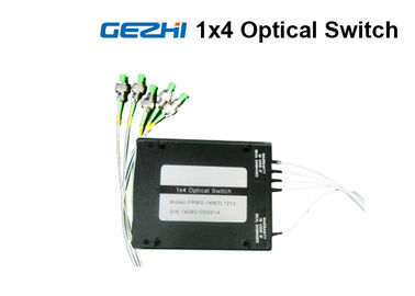 1x4 Opto Mechanical Optical Fiber Switch Module For OXC System Monitoring